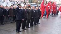 Atatürk'ün ölümünün 73'ncü yıldönümü saygıyla anıldı