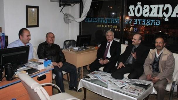 TOSYALI-DER  den Gazetemize Ziyaret