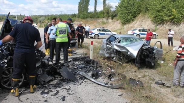 Tosya'da kaza; 1 ölü, 2 si Ağır 7 yaralı