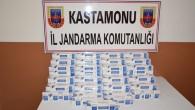 500 Paket Kaçak Sigara Yakalandı