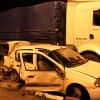 Maçtan Gelen Taraftarlar Kaza Yaptı; 4 Yaralı