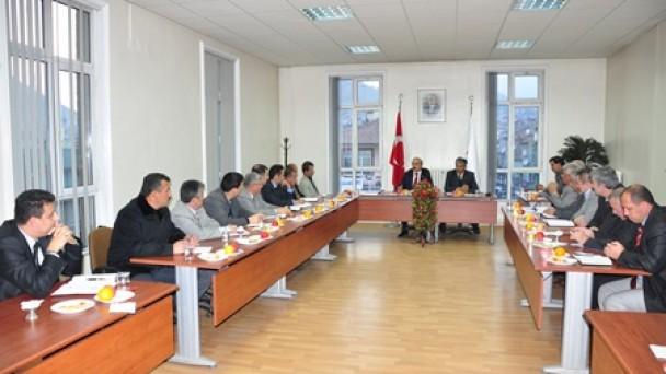 """Belediye'de Koordinasyon Toplantısı Başkan Şahin: """"Tosya Herşeyin en güzelini hak ediyor"""""""