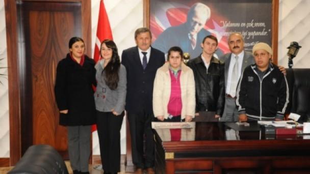 Başkan Şahin'i ziyaret Etti