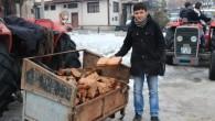 Bir römork odun 50 lira