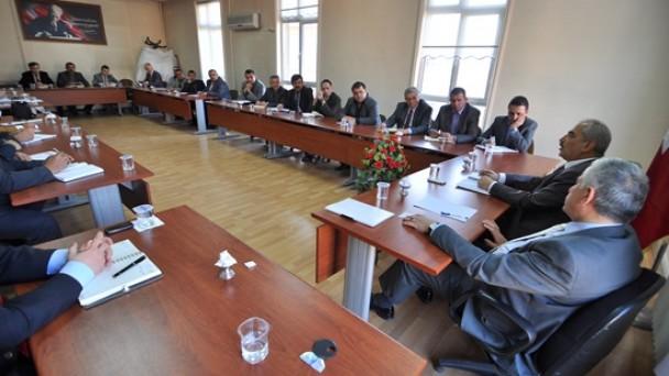 Şahin, Birim Müdürleri İle İstişare Toplantısı Yaptı
