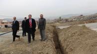 Sapaca Köyü yeni yerleşim alanları suya