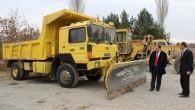 Tosya Kaymakamlığı Köylere Hizmet Götürme Birliği Ekipleri,kış hazırlıklarını tamamladı