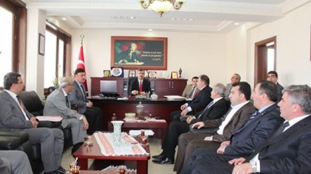 Vali Bektaş, Tosya'da OSB Toplantısına Katıldı