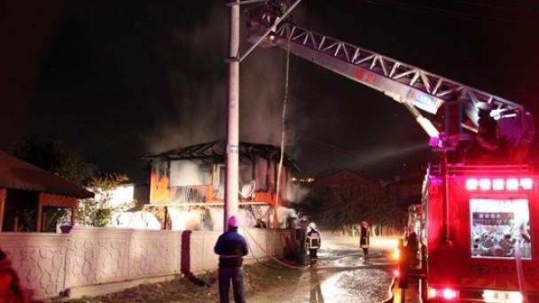 Tosya'da Yangın; 1 Kişi Öldü, 1 Kişi Yaralandı