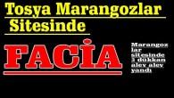 Tosya Marangozlar Sitesinde FACİA