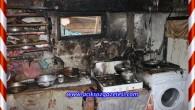 Çaybaşı Köyünde yangına bilinçli müdahalefaciayı önledi