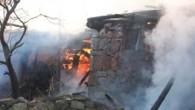 Tosya Çepni Köyü`nde Korkutan Yangın