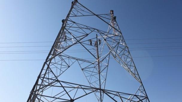 Yüksek Gerilim Enerji Nakil Hattının Yapımına Başlandı