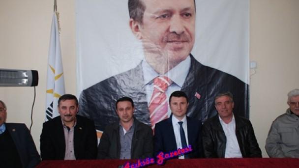 Ak Parti Milletvekili Aday Adayı Nalbantoğlu İlçe Yollarında