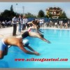 Yüzme Yarışlarında 1. 'ler Belli Oldu