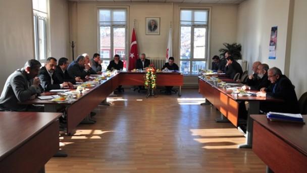 2013 Yılının Son Meclis Toplantısı Yapıldı