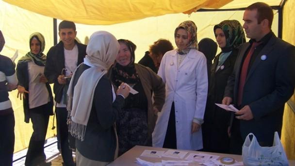 Tosya'da Tansiyon ve Şeker Taraması Yapıldı