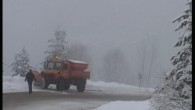 Ilgaz Dağı'n da Kar Kalınlığı 10 Santimi Geçti
