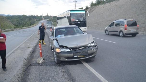 6 Yaşındaki Çocuk Kazada Yaralandı