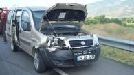 D-100 de kaza;1 yaralı
