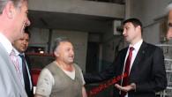 Nalbantoğlu Dün Sanayi Esnafı ile Beraberdi