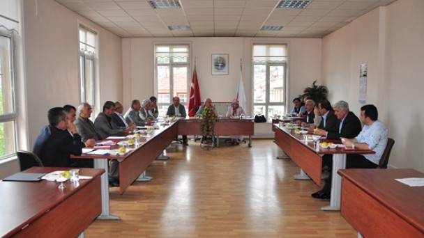 Belediye Meclis Toplantısı Yapıldı