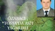Tosya'da Asit Yağmuru Tehlikesi!