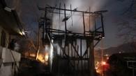 Korkutan Yangın Ucuz Atlatıldı