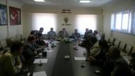 Ak Partide SKM ve seçim başkanları toplandı