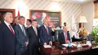 Bakan Müezzinoğlu; Kazım Şahin'i Ziyaret Etti
