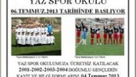 Yaz Futbol Okulu Kayıtları Başladı