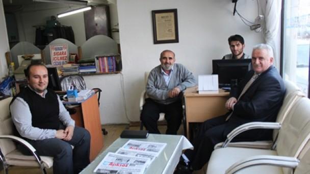 Müftü Hikmet Yazıcı'dan Gazetemize Veda Ziyareti