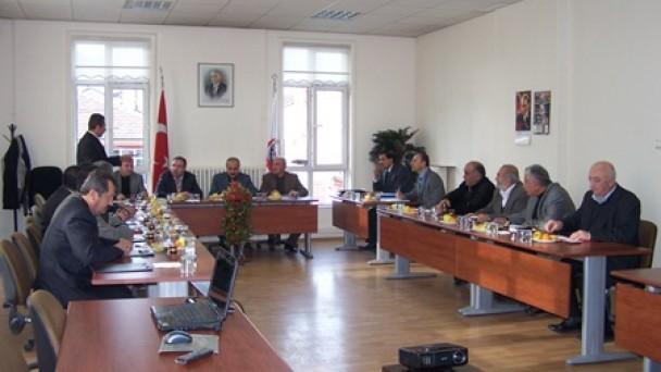 Belediye Meclisi yılın son Meclis toplantısını yaptı