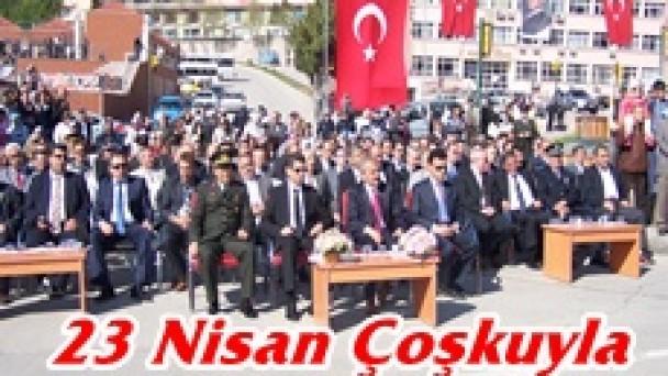 Tosya'da 23 Nisan Çoşkuyla Kutlandı