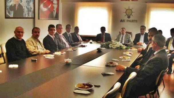 CHP den Ak Partiyi İadeyi Ziyaret