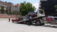 Tosya'da 5 Motosiklet Trafikten Men