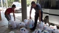 500 aileye Gıda Yardımı