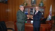 Jandarma Bölge Komutanı Tuğ. General Ali AYDIN Tosya Belediye Başkanı Kazım Şahin'e İadeyi Ziyarette Bulundu