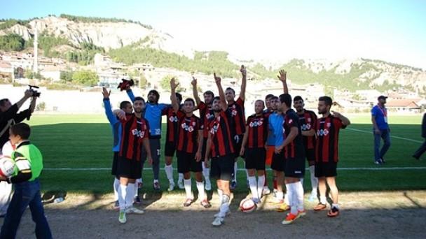 Tosya Belediyespor Nevşehir'de 3 Puanı Kaptı