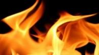 Bağ evinde yangın