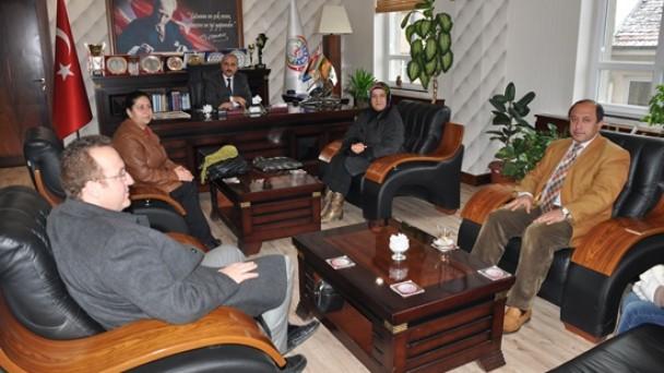 Mehmet Akif 'ten Makam Ziyareti