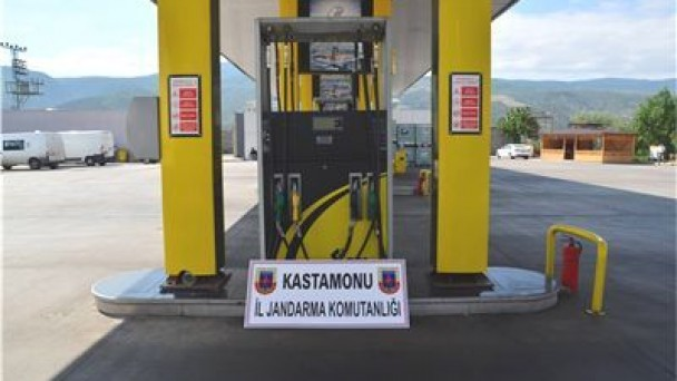 Tosya'da kaçak akaryakıt operasyonu
