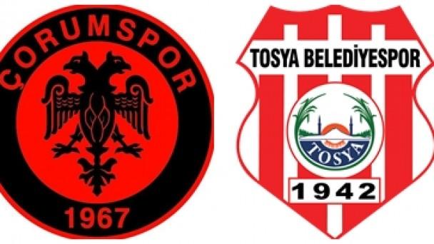 Çorum Spor : 1 – Tosya Belediye Spor : 3