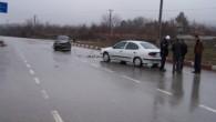Çankırı Kavşağı'nda Kaza