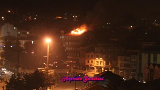 Hotel Döğücü Yangını Ucuz Atlattı
