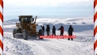 Tosya Kar esaretine girmedi SYDV Kömür Dağıtımını Başlattı. Yolu kapalı 3 köy kaldı