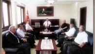 Ak Parti İlçe Teşkilatı Türköz'ü Makamında Ziyaret Etti