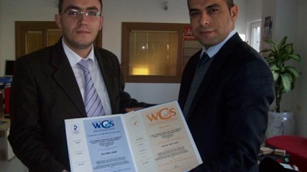 ÇAĞ VE ERCANLAR ISO 9001 BELGESİ ALDI