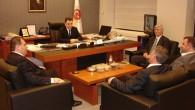 Türköz Bülent Uğur Ecevit'i Ziyaret Etti