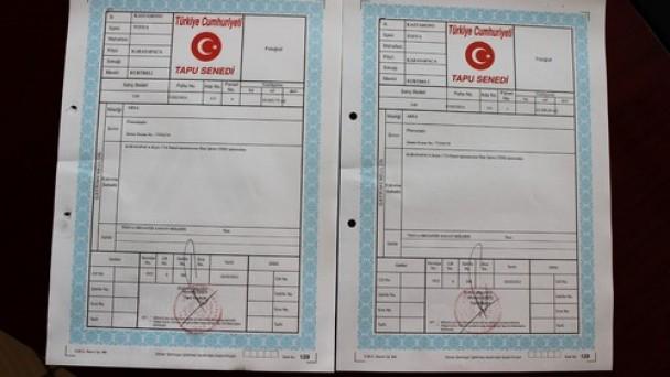 Tosya OSB'nin tapuları teslim alındı